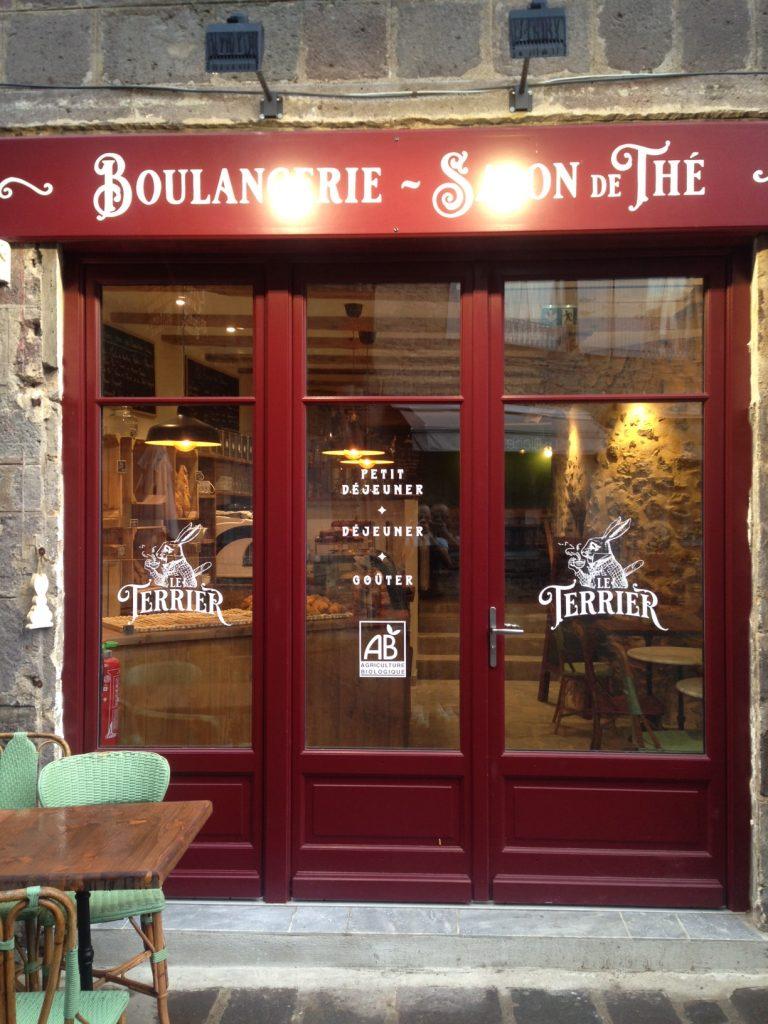 Le Terrier, boulangerie bio et salon de Thé à Besse et Saint Anastaise, Besse en chandesse